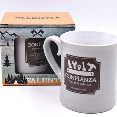 Taza Valentia Confianza (Porcelana )