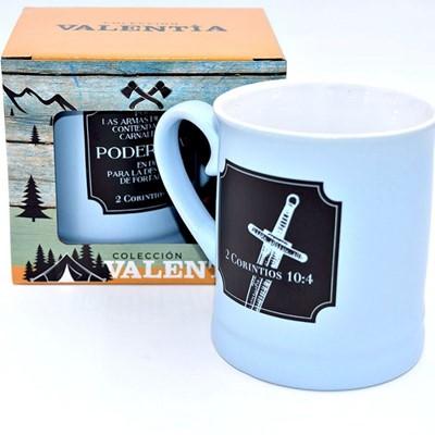 Taza Valentía Poderosa (Porcelana )