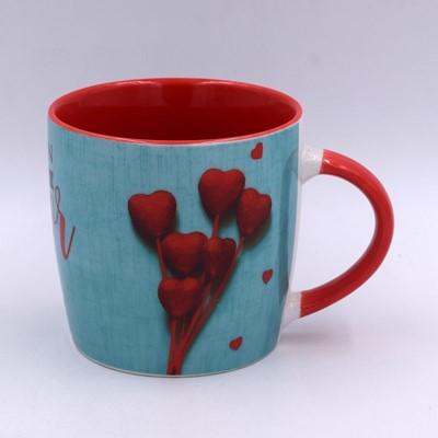 Taza Con Amor (Porcelana )