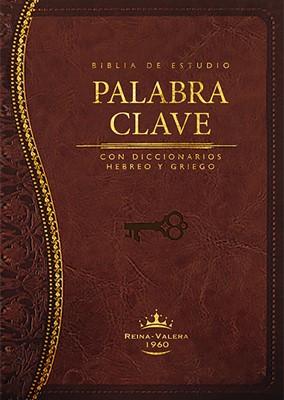 BIBLIA DE ESTUDIO PALABRA CLAVE IMITACION MARRON (Piel Especial Marrón)