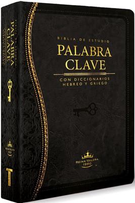 BIBLIA DE ESTUDIO PALABRA CLAVE IMITACION NEGRO (Piel Especial Negro)