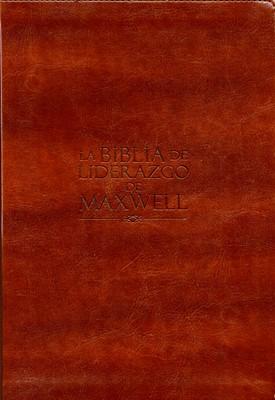 Biblia de Liderazgo de Maxwell Actualizada y Ampliada - Piel (Piel Especial)