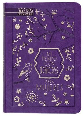 Mi Tiempo Con Dios Para Mujeres (Piel)