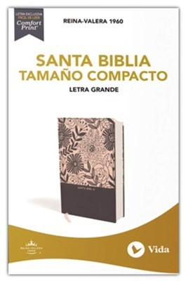 Santa Biblia Tamaño Compacto (Tela Lavanda )