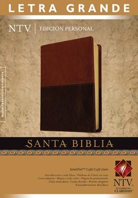 Biblia Edición Personal Letra Grande (Sentipiel)