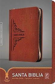 Biblia Con Cierre - Ladrillo (Tapa sentipiel ladrillo)
