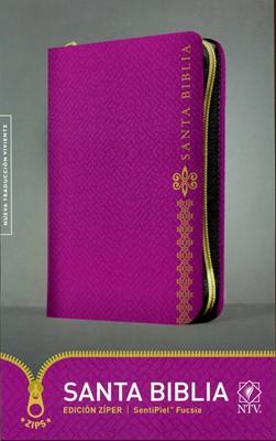 Biblia Con Cierre - Fucsia (Tapa sentipiel fucsia)