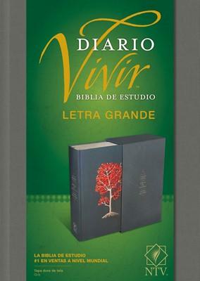 Biblia De Estudio Diario Vivir - Letra Grande (Tapa Dura)