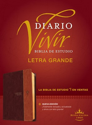 Biblia de Estudio del Diario Vivir - Letra Grande (Piel )