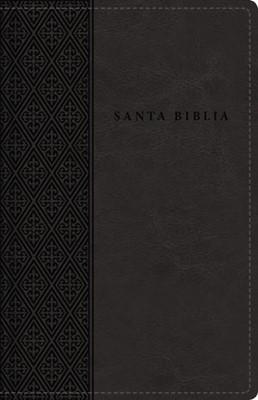 Santa Biblia Tamaño Compacto -Letra Grande (Sminil Piel - Con Cierre)