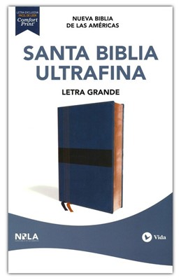 Santa Biblia Ultrafina - Letra Grande (Semi Piel )