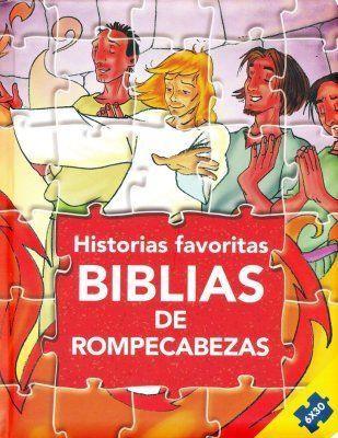Biblias de Rompecabezas (Tapa Dura Acolchonada)