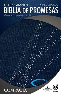 Biblia de Promesas Compacta Letra Grande Jean con Cierre (Jeans con Cierre)