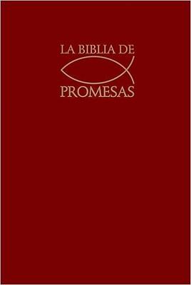 Biblia de Promesas Tapa Dura Roja (Tapa Dura)
