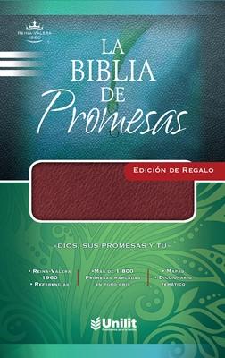 Biblia de Promesas Edición de Regalo Imitación Piel Vino (Imitación Piel)