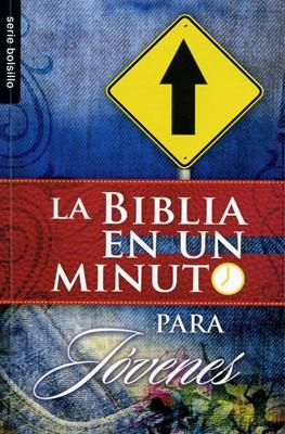 Biblia en un Minuto para Jóvenes (Rústica)