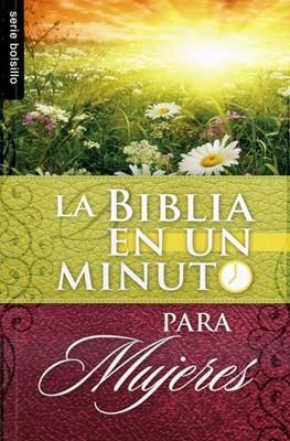 Biblia en un Minuto Para Mujeres (Rústica)