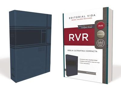 Biblia RVR Ultrafina Compacta Soft-Touch Azul (Imitación Piel Azul)