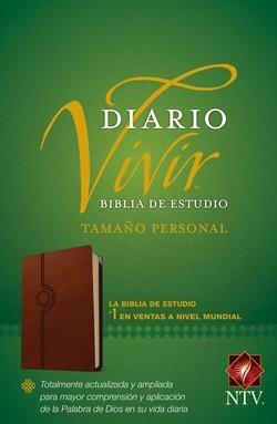 Biblia De Estudio Diario Vivir Tamaño Personal Sentipiel Café Claro (Sentipiel Café Claro)
