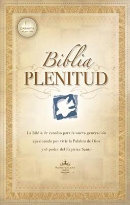 Biblia Plenitud (Piel elaborada Negra)