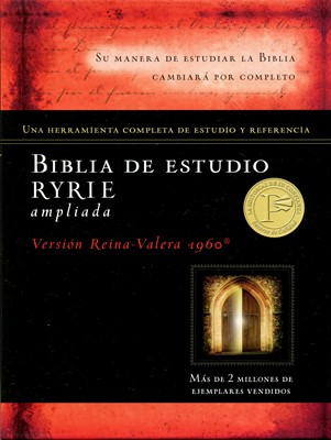 Biblia de Estudio Ryrie Ampliada RVR60 (Tapa Dura)