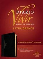Biblia De Estudio Diario Vivir - Letra Grande