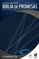 Biblia de Promesas Compacta Letra Grande Jean con Cierre