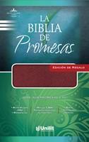 Biblia de Promesas Edición de Regalo Imitación Piel Vino