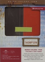Biblia Thompson Duotono Marrón - Terracota