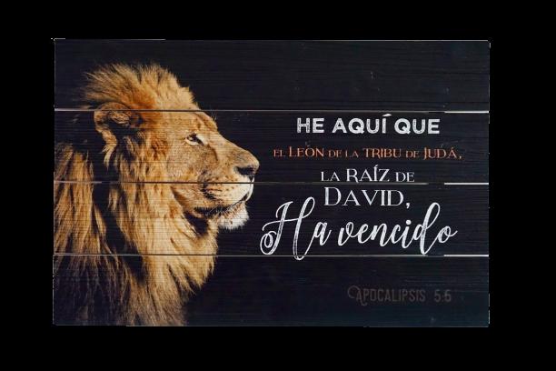 Cuadro El León de la Tribu de Juda