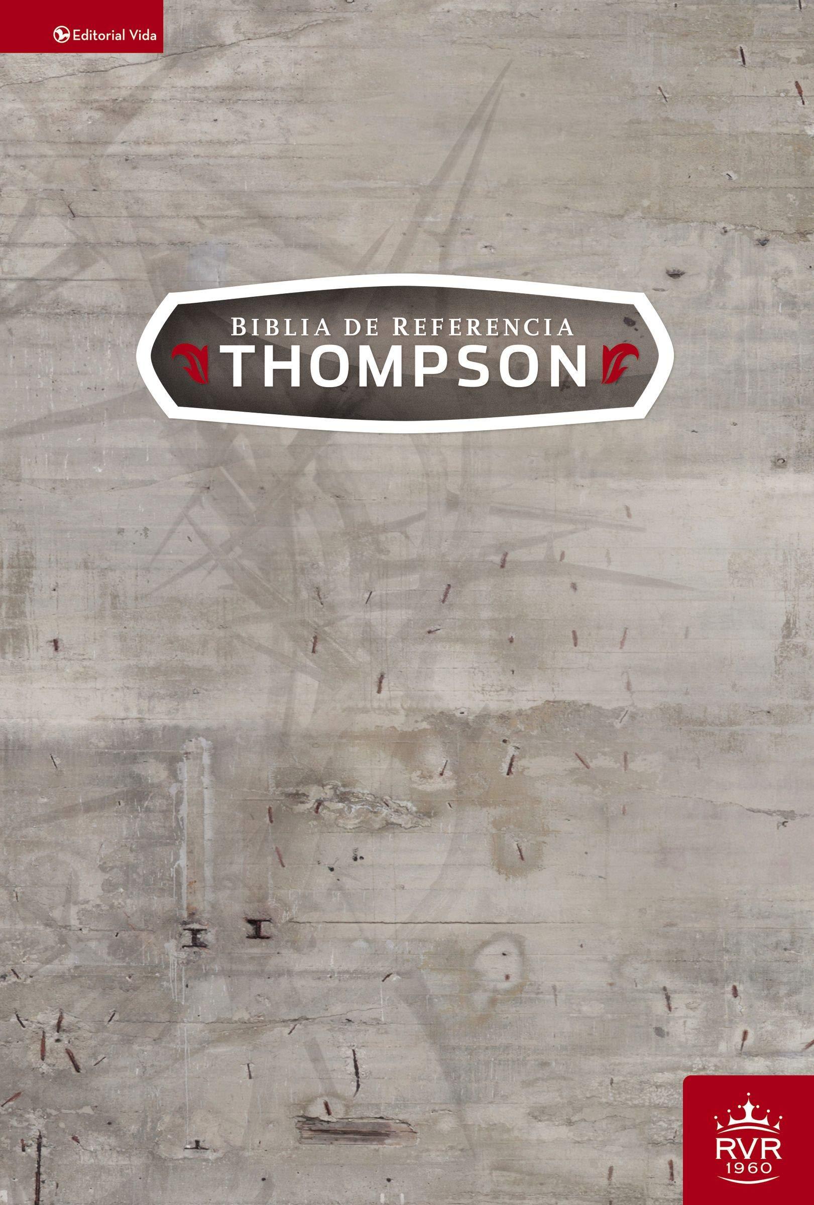Biblia de Referencia Thompson Tapa Dura