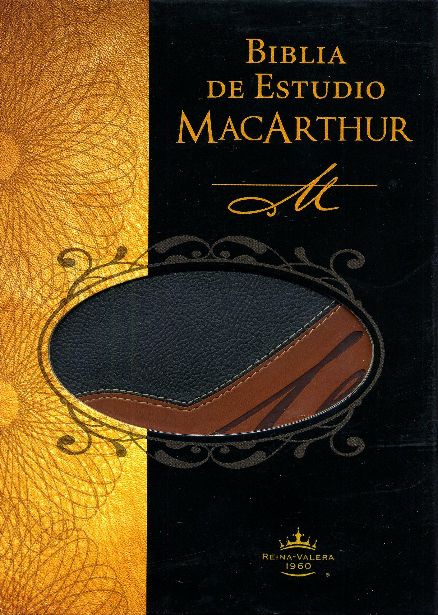 Biblia de Estudio MacArthur Duotono